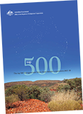 Cover of the report on the top 500 Aboriginal and Torres Strait Islander corporations for 2015–16