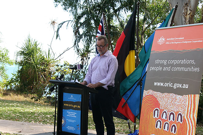 Minister for Indigenous Affairs, Nigel Scullion