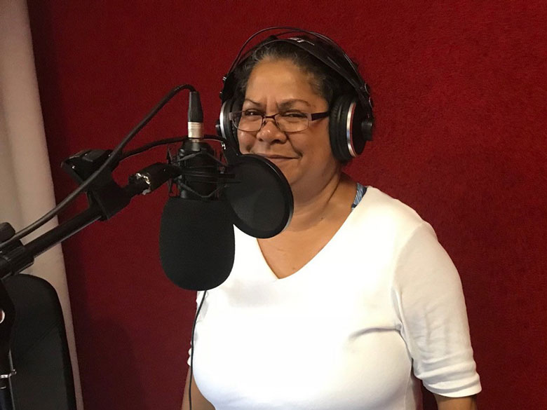 Dorrie-Anne Raymond, member of Larrakia Nation