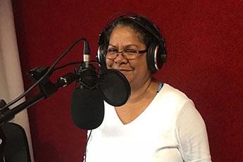 Dorrie-Anne Raymond, member of Larrakia Nation