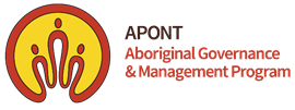 APONT Aboriginal Governance & Management Program logo