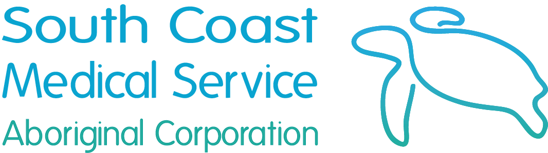 Logo for South Coast Medical Service Aboriginal Corporation