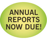 Annual report due now image