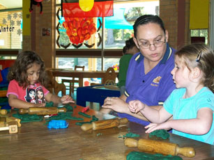 Activities at the Kulai Pre-School Aboriginal Corporation