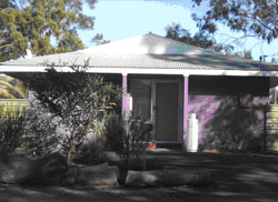 WDNWPT head quarters in Alice Springs, known as the 'purple house'