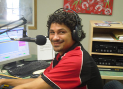 Bennie Rea after undergoing BBM's trainee program, Bennie is now senior broadcaster and host of the 'Brekky Show with Bennie'. BBM is funded by the Office for the Arts Department of the Prime Minister and Cabinet.