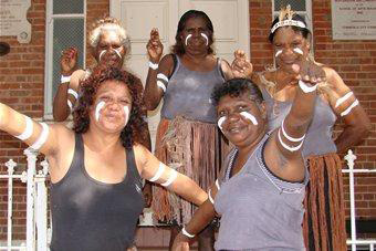 Mornington Island dancers. A boost in local culture is expected. Photo: Nathalie Fernbach/ABC Rural