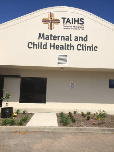 TAIHS Maternal and Child Health Clinic building