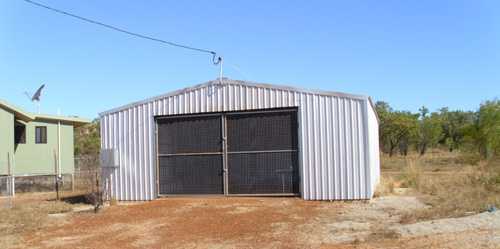 The Alawa training shed