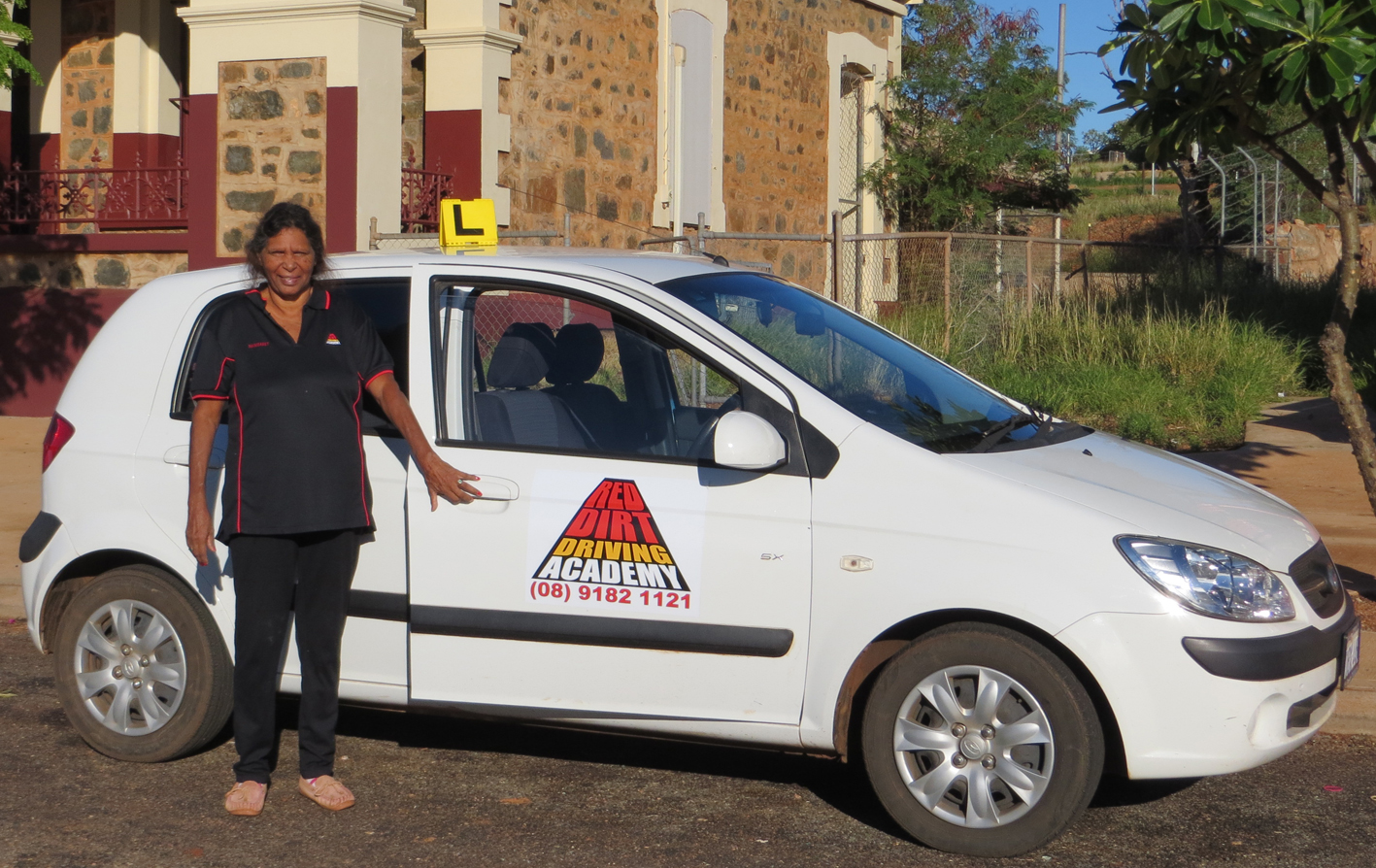 Red Dirt Driving Academy's first proud instructor