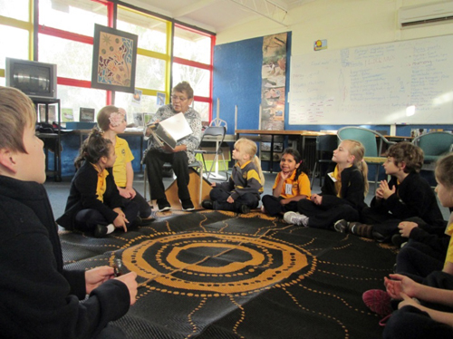 Swan Hill Primary School became the most recent school to take part in the pilot trial to introduce Aboriginal languages in Victorian schools