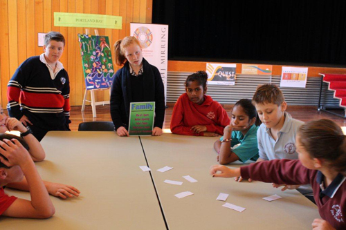 Gunditjmara languages program at Heywood and District Secondary College, Year 7 and 8