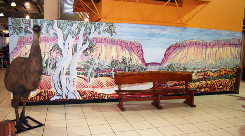 The Alice Springs mural project