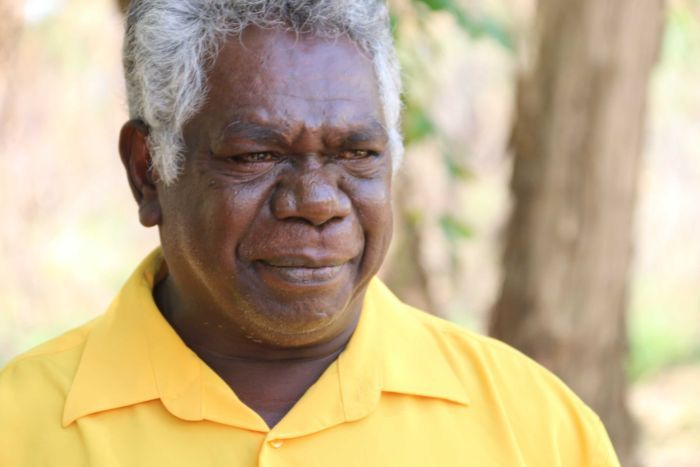Djawa Yunupingu, deputy chair of Gumatj Aboriginal Corporation