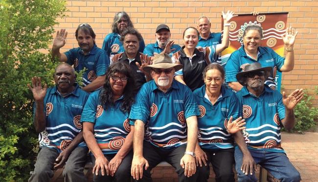 2018 board of directors of Far West Coast Aboriginal Corporation RNTBC