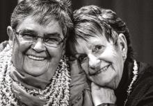 Verna Nichols and Jan Langridge