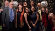 Community members celebrate Katungul's 25th birthday