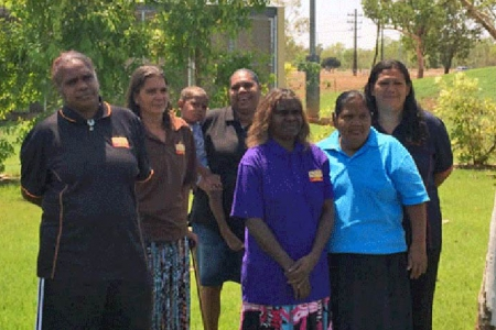 Female directors of Sunrise Health Service Aboriginal Corporation